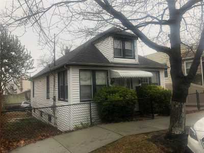 Ozone Park Single Family Home For Sale: 89-23 Gold Road