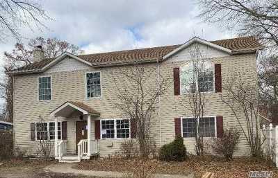 Selden Single Family Home For Sale: 67 Elmwood Ave