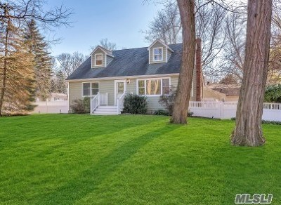 Wading River Single Family Home For Sale: 5 Berry Ln