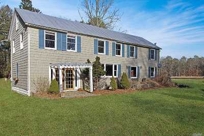 Manorville Single Family Home For Sale: 70 Schultz Rd