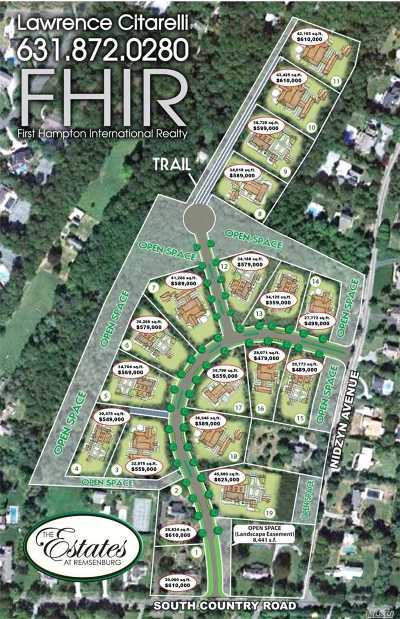 Remsenburg Residential Lots & Land For Sale: 116 #11 South Country Rd