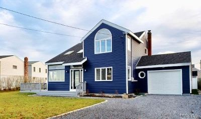 Center Moriches Single Family Home For Sale: 6 Oceanview Pl