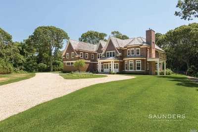 Sag Harbor Single Family Home For Sale: 9 Seaponack Dr