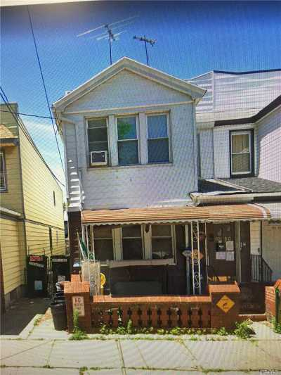 Ozone Park Multi Family Home For Sale: 101-50 102nd St