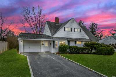 Wantagh Single Family Home For Sale: 22 Wayside Ln