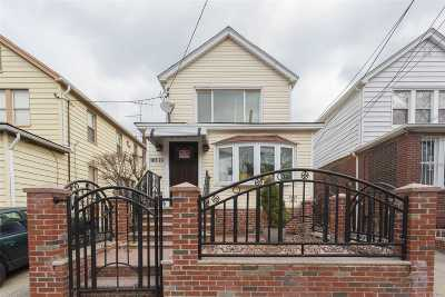 Ozone Park Single Family Home For Sale: 105-23 90th St