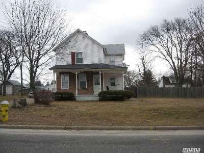 Patchogue Multi Family Home For Sale: 43-45-47 Case Ave