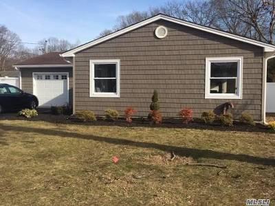 Ronkonkoma Single Family Home For Sale: 45 Vanderbilt Ave
