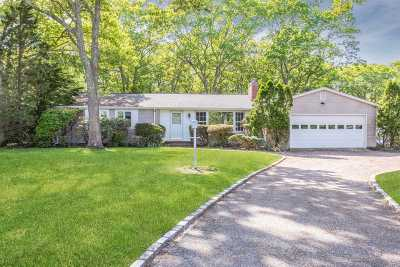 Westhampton Bch Single Family Home For Sale: 113 Aspatuck Rd