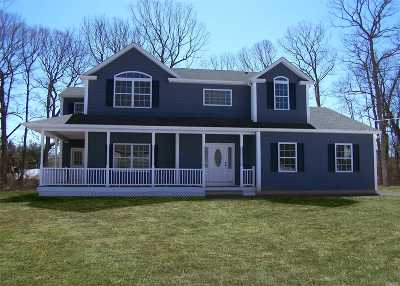Lake Grove Single Family Home For Sale: Lot 3 Valmont Ct