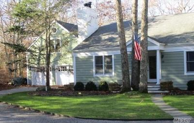 Bridgehampton Single Family Home For Sale: 65 Woodruff Ln