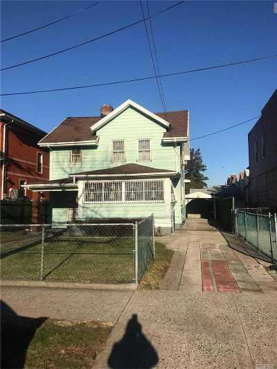 Ozone Park Single Family Home For Sale: 117-09 Linden Blvd