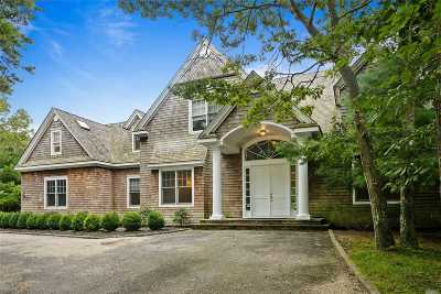 East Hampton Single Family Home For Sale: 508 Sag Harbor Tpke