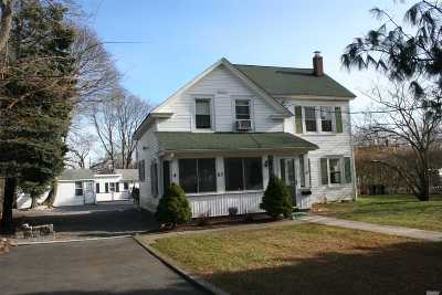 Sayville Single Family Home For Sale: 65 Greene