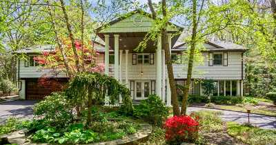 Dix Hills Single Family Home For Sale: 17 Old Brook Rd