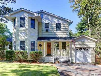 Nesconset Single Family Home For Sale: 14 Locust St
