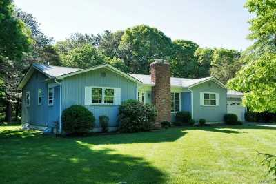 Westhampton Single Family Home For Sale: 62 Jagger Ln