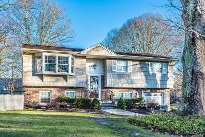 Center Moriches Single Family Home For Sale: 9 Canal View Dr