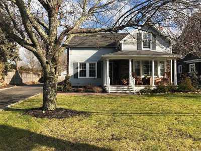 East Moriches Single Family Home For Sale: 7 Atlantic Ave