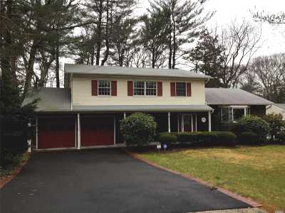 Hauppauge Single Family Home For Sale: 386 Ridgefield Rd