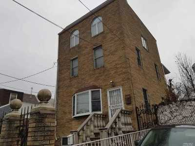 Elmhurst Single Family Home For Sale: 54-40 82nd St