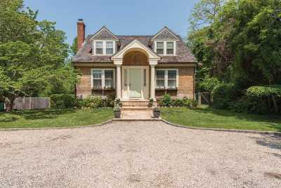 Sag Harbor Single Family Home For Sale: 2867 Noyac Rd