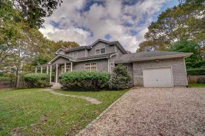East Hampton Single Family Home For Sale: 16 Wolf Way
