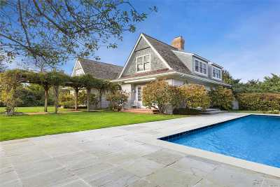 Sagaponack Single Family Home For Sale: 409 Bridge Ln