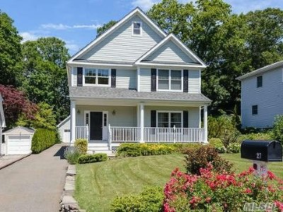 Cold Spring Hrbr Single Family Home For Sale: 27 Grove St