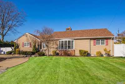 Massapequa Single Family Home For Sale: 127 Fairfax Rd