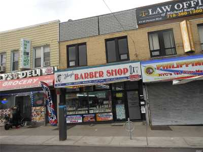 Briarwood Commercial For Sale: 83-32 Parsons Blvd