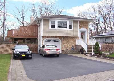 Ronkonkoma Single Family Home For Sale: 436 Fir Grove Rd
