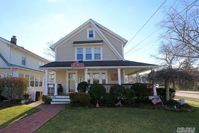 Lynbrook Single Family Home For Sale: 80 Oak St