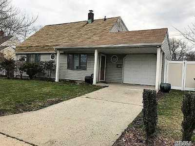 Levittown Single Family Home For Sale: 74 Carnation Rd