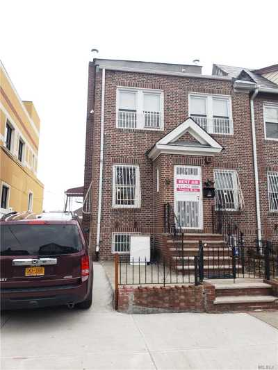 Jackson Heights Rental For Rent: 33-17 72nd St #2nd Fl