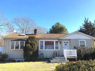Hampton Bays Single Family Home For Sale: 9 Huckleberry Ln