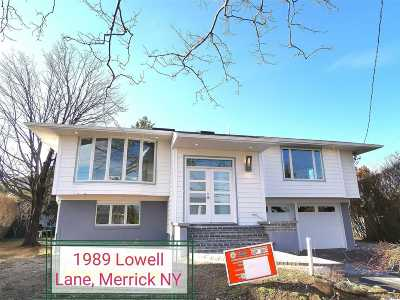 Merrick Single Family Home For Sale: 1989 Lowell Ln