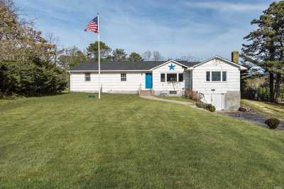 Hampton Bays Single Family Home For Sale: 7 Ridge Ln