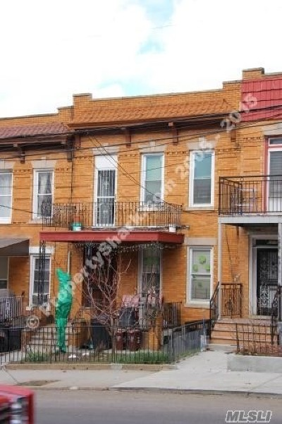Middle Village Multi Family Home For Sale: 63-13 Eliot Ave
