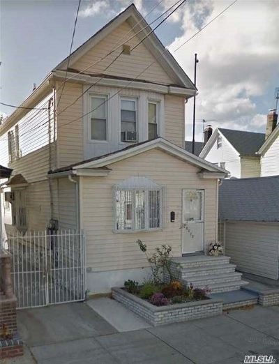 Ozone Park Single Family Home For Sale: 103-12 107th St