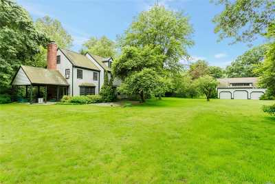 Muttontown Single Family Home For Sale: 2 Hidden Pond