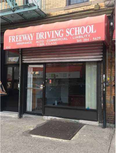 Astoria Business Opportunity For Sale: 42-12 30th Ave