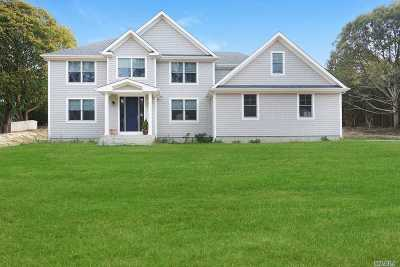 Remsenburg Single Family Home For Sale: 44 Clay Pit