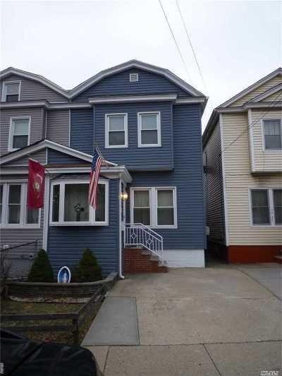 Woodhaven Single Family Home For Sale: 94-26 Park Ln