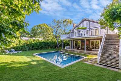 Montauk Single Family Home For Sale: 21 Mulford Ave