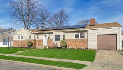 Lindenhurst Single Family Home For Sale: 30 Wellbrock St