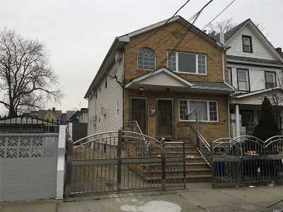 Jamaica Multi Family Home For Sale: 144-21 106 Ave
