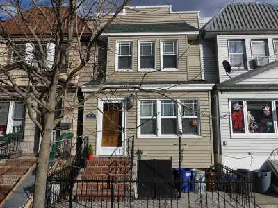 Woodhaven Single Family Home For Sale: 89-15 78th St
