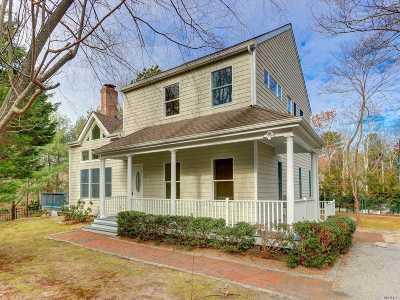 East Hampton Single Family Home For Sale: 8 Harbor St
