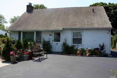 Copiague Single Family Home For Sale: 2 Glen Ln